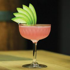 Rhubarb's uniquely tart flavor is an ideal backbone for this complex vodka cocktail. Check out the Rosemary & Rhubarb. Cocktails To Try, Spring Cocktails, Vodka Cocktails, Classic Cocktails, Easter Cocktails, Fancy Drinks, Yummy Drinks, Rhubarb Cocktail, Cocktail Garnish