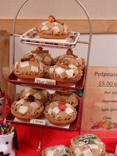 potpourri pies  made by  SJV Ladies club  2013