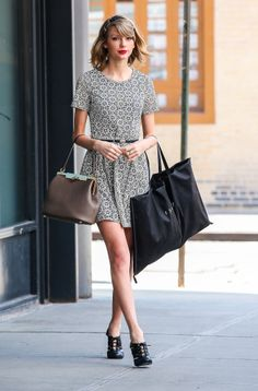 Taylor Swift in NYC.