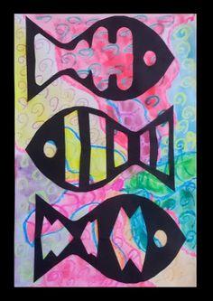 November 2013: Dream Painters: Coral Reef Fish ~ Version 2