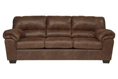 Brown Bladen Full Sofa Sleeper by Ashley HomeStore, Polyester/Polypurethane
