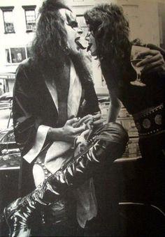 Gene Simmons & Ace Frehley