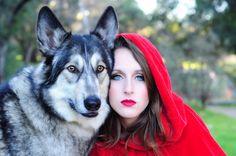 Fantasy Photography ~Red Riding Hood~ by ~Crystalxoxo1973 on deviantART