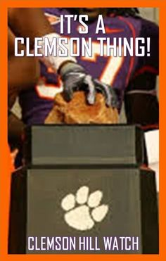 Clemson - Gives you chill bumps just thinking about it!