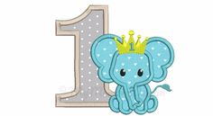 Elephant Embroidery Design - Elephant applique - Birthday applique - Machine embroidery file - pes hus jef vip vp3 xxx dst exp - 3 sizes by MyMemoryDesign on Etsy https://www.etsy.com/listing/531920251/elephant-embroidery-design-elephant