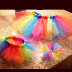 Size5 tutu w bow and matching doll tutu ... Prices vary  FB page-livi bug bowtique