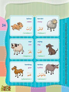 Baca Online Kamus Pintar Bergambar 3 Bahasa adalah buku kamus bergambar full warna dalam 3 bahasa: Indonesia, Inggris, dan Arab untuk anak. Indonesian Language, English Language Learning, Arabic Language, Learning Arabic, Busy Book, Learning Colors, Play Doh, Kids Reading, Arabic Words