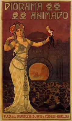 Diorama animado, 1902