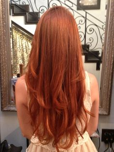 Love this natural red. Found it on Bree the Salon's Yelp page.