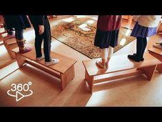 """Bewegend leren: """"Tafels en stoelen buiten"""" – Klasse"""