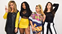 Fifth Harmony at TV Groove Ally Brooke, Simon Cowell, Fifth Harmony No Brasil, Hamilton, Cimorelli, Still Picture, Dinah Jane, Best Dance, Camila Cabello