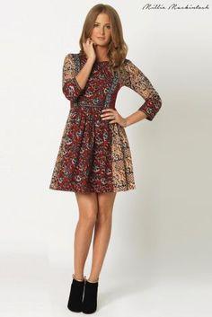 86730eef575 Buy Millie Mackintosh Patchwork Smock Dress online today at Next  Rep.
