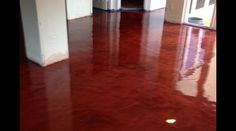 Acid Stains & Epoxy - European Sculptured Stone - Decorative Concrete Designs Pool Decking Concrete, Acid Stained Concrete, Hardwood Floors, Flooring, Decorative Concrete, Concrete Design, White Marble, Epoxy, Things To Come
