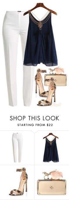 """Untitled #572"" by dashe-diva ❤ liked on Polyvore featuring Basler, River Island and Alexander McQueen"