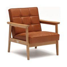 Karimoku60 K Chair in Volte Light Brown