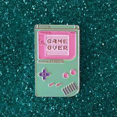 Jupiter Milk — Game Over Pin