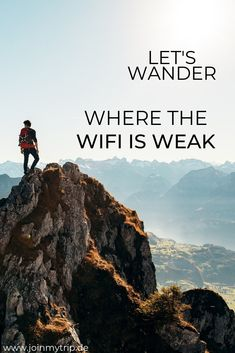 Lets wander where the wifi is weak. 🍃🍂⁣ ⁣ Let's explore the world ✈️⁣ ⁣ Plan your next trip with JoinMyTrip  ⁣ ⁣ Travelquote. Travelinspiration. Wander. Hiking. Travel.⁣ Travelbuddies. Reisepartner. JoinMyTrip. Weltenbummler. ⁣ Travel the World. Travelquote. Reisepartner gesucht. Travelmate. Travelbuddies. Trip Mate.⁣ ⁣ ⁣ Wanderlust Quotes, Travel Quotes, Travel Deals, Us Travel, Iceland In May, Experience Quotes, Iceland Adventures, Travel Organization, Group Travel