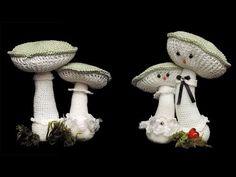 Crochet Food, Knit Crochet, Crochet Mushroom, Plastic Pants, Make An Effort, Toy Craft, Doll Toys, Dolls, Cloth Diapers