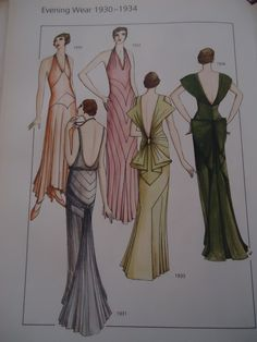 1930s fashion women formal wear - Bing Images Maybe I will make a dress to wear to the Military Ball this year.