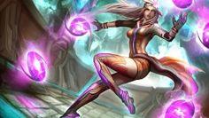 League of Legends Syndra Dodgeball Skin Art Gevurah_studios High Resolution 4096×2560