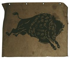 #land #buffalo #illustration in Military Industrial