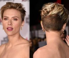 Get The Look: Scarlett Johansson's Layered Pixie Crop