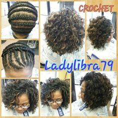 Ideas Crochet Braids Freetress Cozy Deep Protective Styles For 2019 Curly Crochet Hair Styles, Crochet Braids Hairstyles, Weave Hairstyles, Curly Hair Styles, Natural Hair Styles, Short Crochet Braid Styles, Crotchet Styles, Black Girls Hairstyles, Pretty Hairstyles