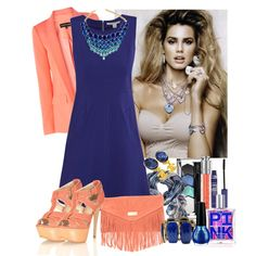 """Blue Coral Reef"" by sharpaytisdale on Polyvore"
