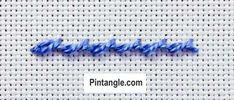 Twisted Chain stitch and Rope stitch are two very similar stitches. This illustrated step by step tutorial shows you how to work them both. Embroidery Fabric, Embroidery Stitches, Embroidery Patterns, Sewing Patterns, Chain Stitch, Cross Stitch, Needlepoint, Charts, Lust