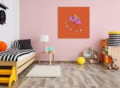See how great your kid's art looks on the wall as a big modern art canvas print! This particular one is titled Queen Hexopus. Modern Canvas Art, Canvas Art Prints, Modern Art, Drawing For Kids, Art For Kids, Wrapped Canvas, Pop Art, Toddler Bed, Kids Rugs