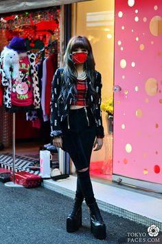 Name: Essy @essynoir  Top: H&M Top: Karma Loop Pants: Unit Shoes: Unit Accessory: H&M Mask: Original