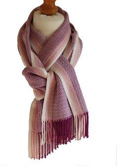 Linen Feel Blanket Scarf Oversized Large Men/'s Women/'s Wrap Fringe Shawl Pink
