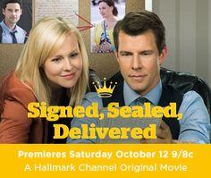 signed sealed delivered hallmark movie - Google Search