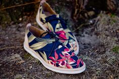 Thorocraft - Hampton Laceup - Floral / Black | Shoes | Kith NYC