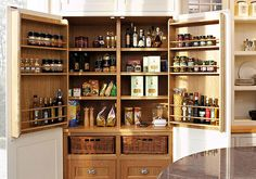 kitchen pantry designs | 26 Awesome Kitchen Pantry Ideas