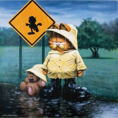 It's nice to have a friend when it's raining on your parade.