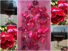 Et si pour l'apéro , je vous offrais un peu de vin de mes roses.... Preserves, Drinks, Alcohol, Wine