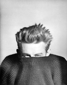 James Dean, March 1955. Photo: Phil Stern.