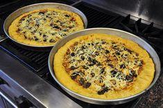 Day 20: Stuffed Crust Pizza   #veganpopup #vegan #food #dinner #pizza