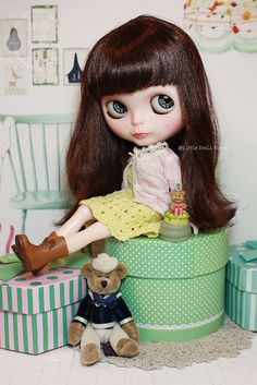 Custom Commission Blythe Doll. | by little dolls room