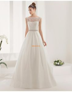 Sweep / Pinsel Zug Taft Empire Brautkleider 2015