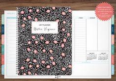 2017 planner custom 2017 2018 planner student planner VERTICAL