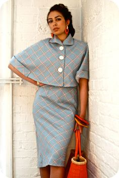 Latest Fashion Trends For Women - Fashion Trends Look Fashion, Retro Fashion, Vintage Fashion, Womens Fashion, I Dress, Dress Outfits, Fashion Dresses, Vintage Outfits, Vintage Dresses