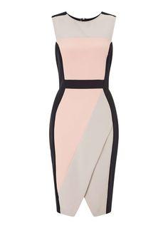 Kleid im Farbblock-Design - Kleider - Kleidung - Miss Selfridge Germany