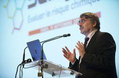 Yves Struillou, Directeur général du travail, lors de l'ouverture de la Journée d'information Seirich, le 15/09/2015 à Paris © INRS