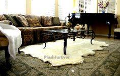 Octo eight pelts sheepskin lampskin luxury faux by PlushFurever
