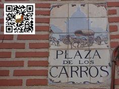 Plaza de los Carros de la Ciudad de Madrid en España