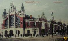 Hala targowa, Chorzów - 1915 rok, stare zdjęcia