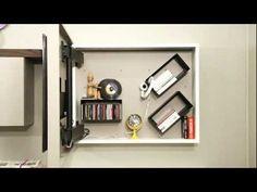 Porta tv contenitore RACK box, liberamente configurabile per una assoluta ottimizzazione degli spazi. Il pannello porta tv girevole è inoltre orientabile a piacere, per un arredamento moderno e funzionale.