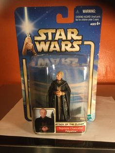 from $2.75 - #StarWars Attack Of The Clones Supreme Chancellor Palpatine Hasbro 2002 New
